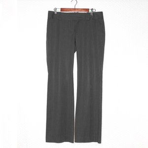 Ann Talyor Dark Grey Pants w/ Pinstripes